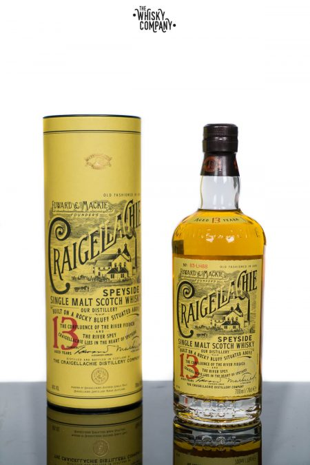 Craigellachie Aged 13 Years Speyside Single Malt Scotch Whisky (700ml)