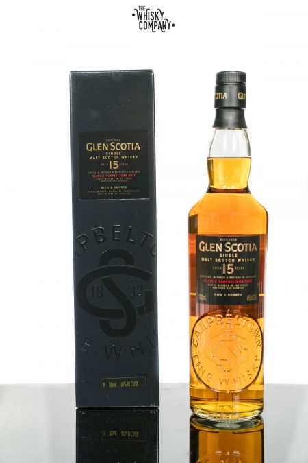 Glen Scotia 15 Years Old Campbeltown Single Malt Scotch Whisky (700ml)