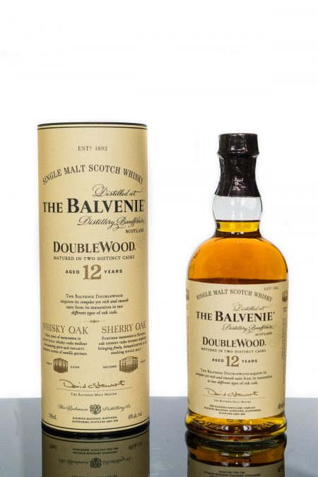 The Balvenie Aged 12 Years Doublewood Speyside Single Malt Scotch Whisky (700ml)