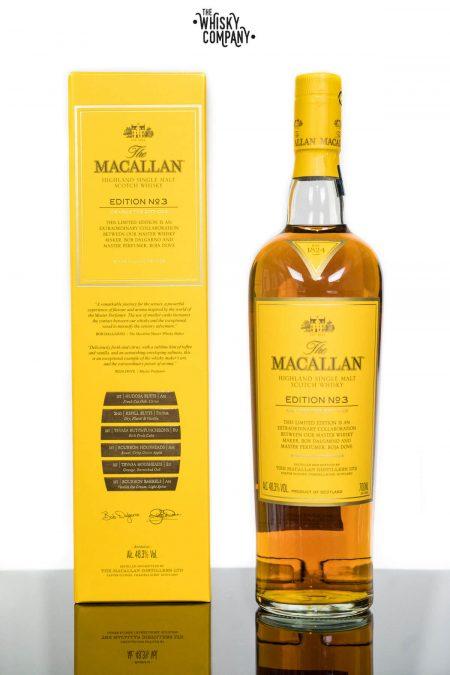 The Macallan Edition 3 Highland Single Malt Scotch Whisky (700ml)
