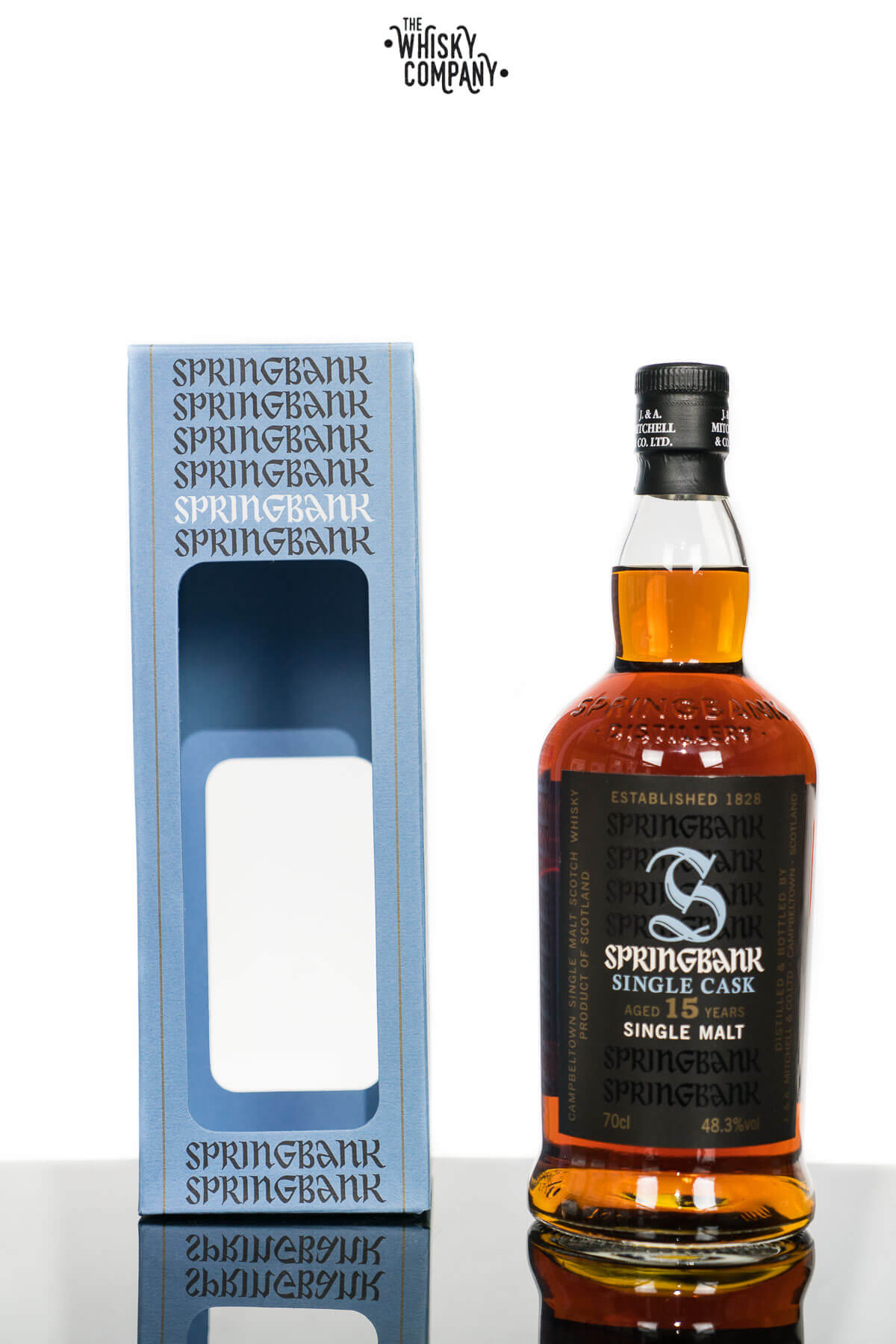 Springbank 15 Years Old Single Cask Campbeltown Single Malt Scotch Whisky (700ml)