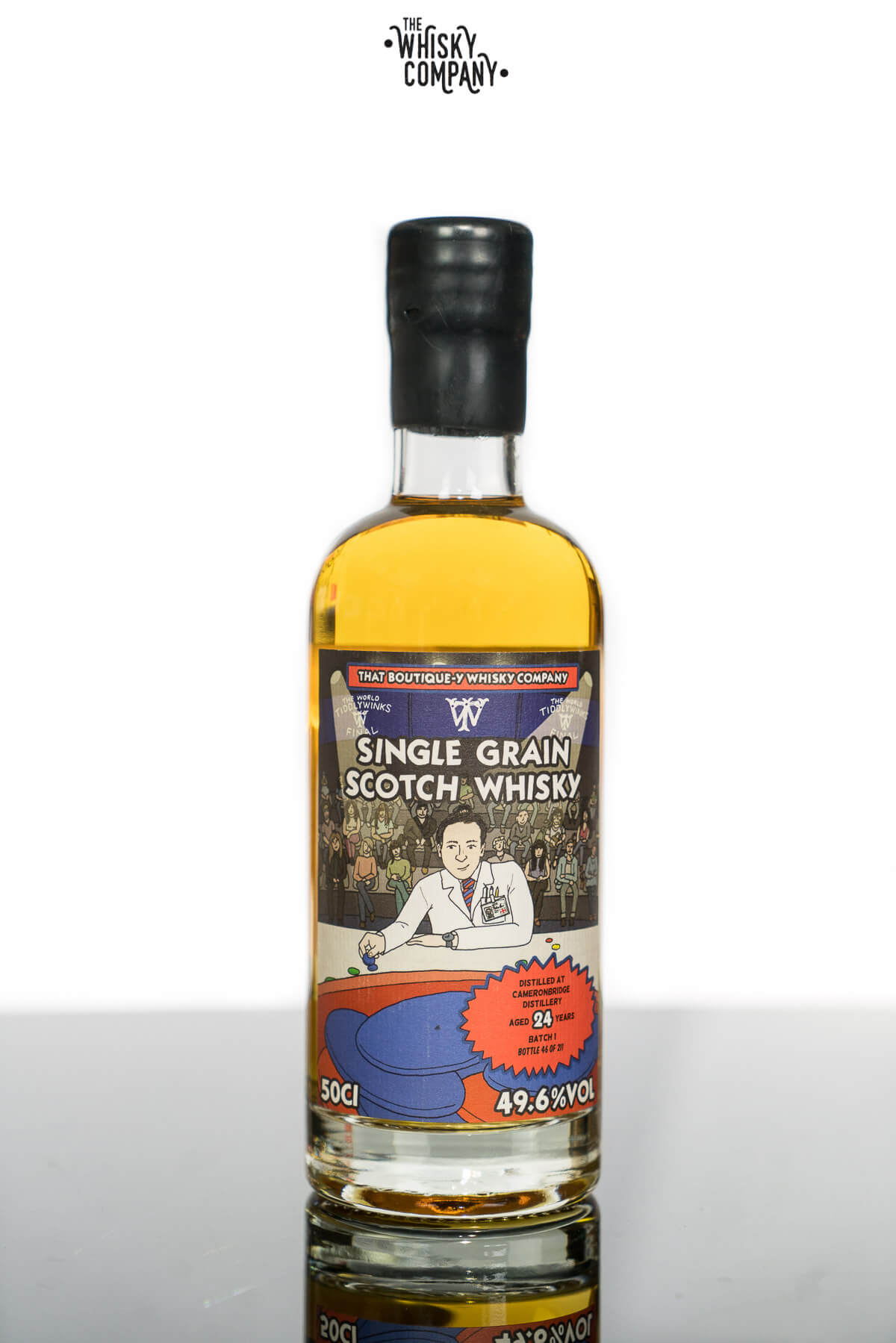 Cameronbridge Aged 24 Years Single Grain Scotch Whisky Batch 1 - That Boutique-Y Whisky Company (500ml)