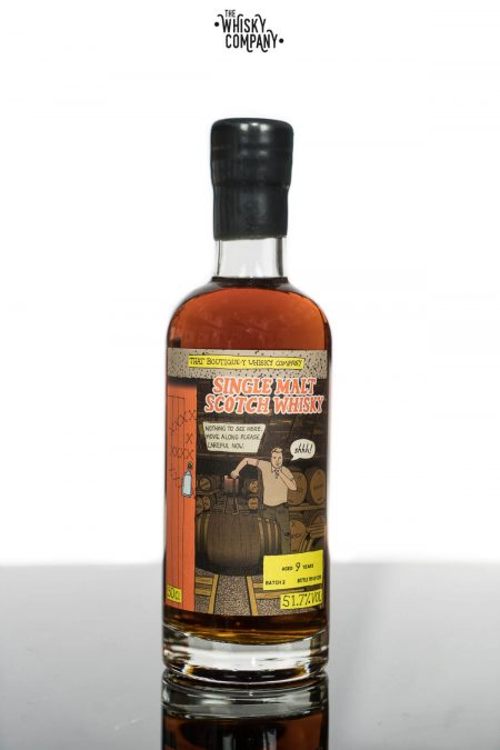 Secret Distillery Aged 9 Years Single Malt Scotch Whisky Batch 2 - That Boutique-Y Whisky Company (500ml)