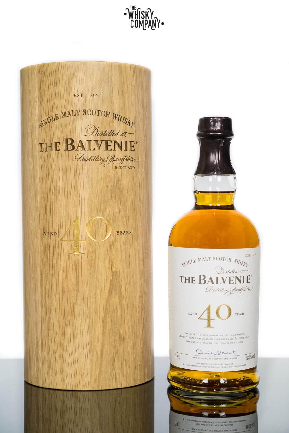 Balvenie single malt scotch whiskey