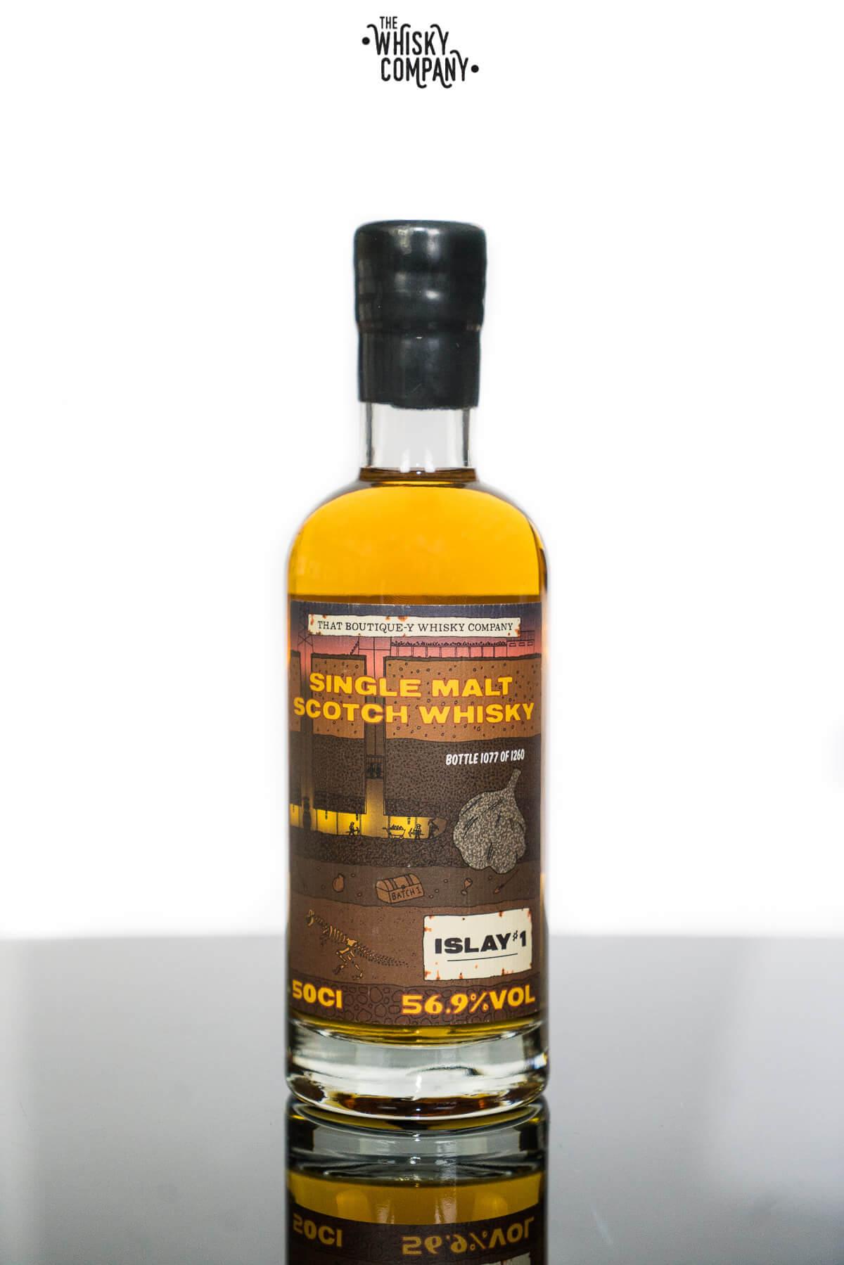 Islay Distillery #1 Single Malt Scotch Whisky - That Boutique-Y Whisky Company (500ml)