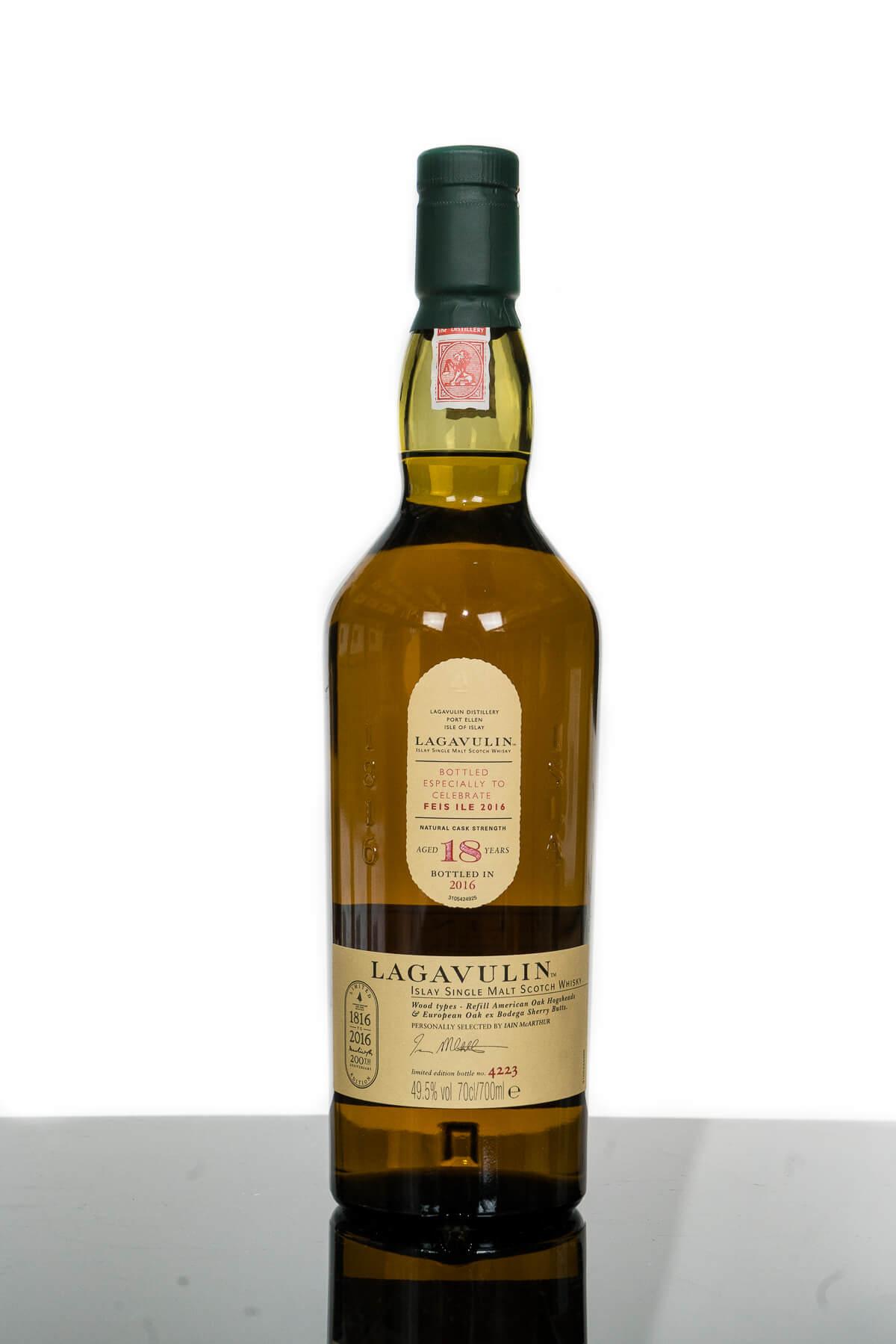 Lagavulin Aged 18 Years Feis Ile 2016 200th Anniversary Islay Single Malt Scotch Whisky (700ml)