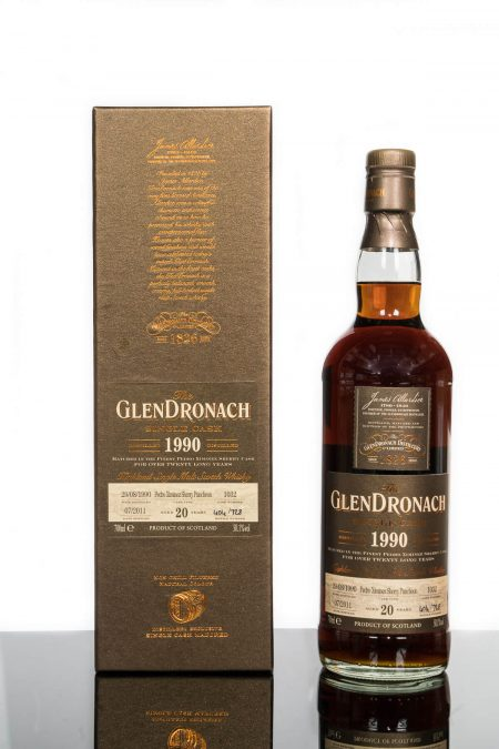 GlenDronach 20 Years Old 1990 Single Cask No. 1032 (700ml)