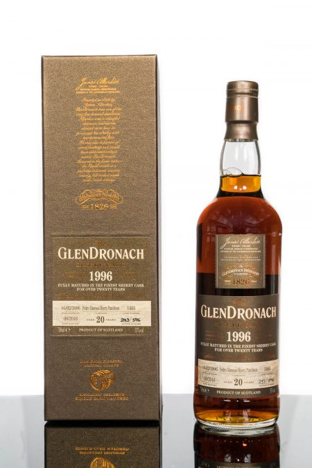 GlenDronach 20 Years Old 1996 Single Cask No. 1485 (700ml)