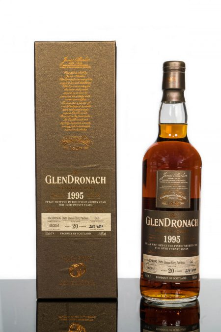 GlenDronach 20 Years Old 1995 Single Cask No. 543 (700ml)