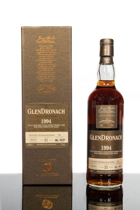 GlenDronach 21 Years Old 1994 Single Cask No. 339 (700ml)