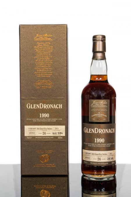 GlenDronach 26 Years Old 1990 Single Cask No. 2973 (700ml)