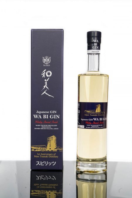 Mars Tsunuki Distillery WA BI GIN Japanese Navy Strength Whisky Barrel Finish (700ml)