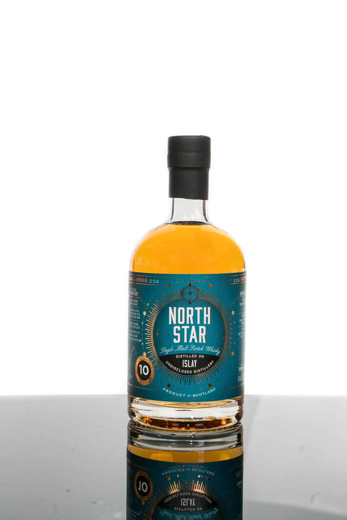 Islay 2007 Aged 10 Years Single Malt Scotch Whisky - North Star (700ml)