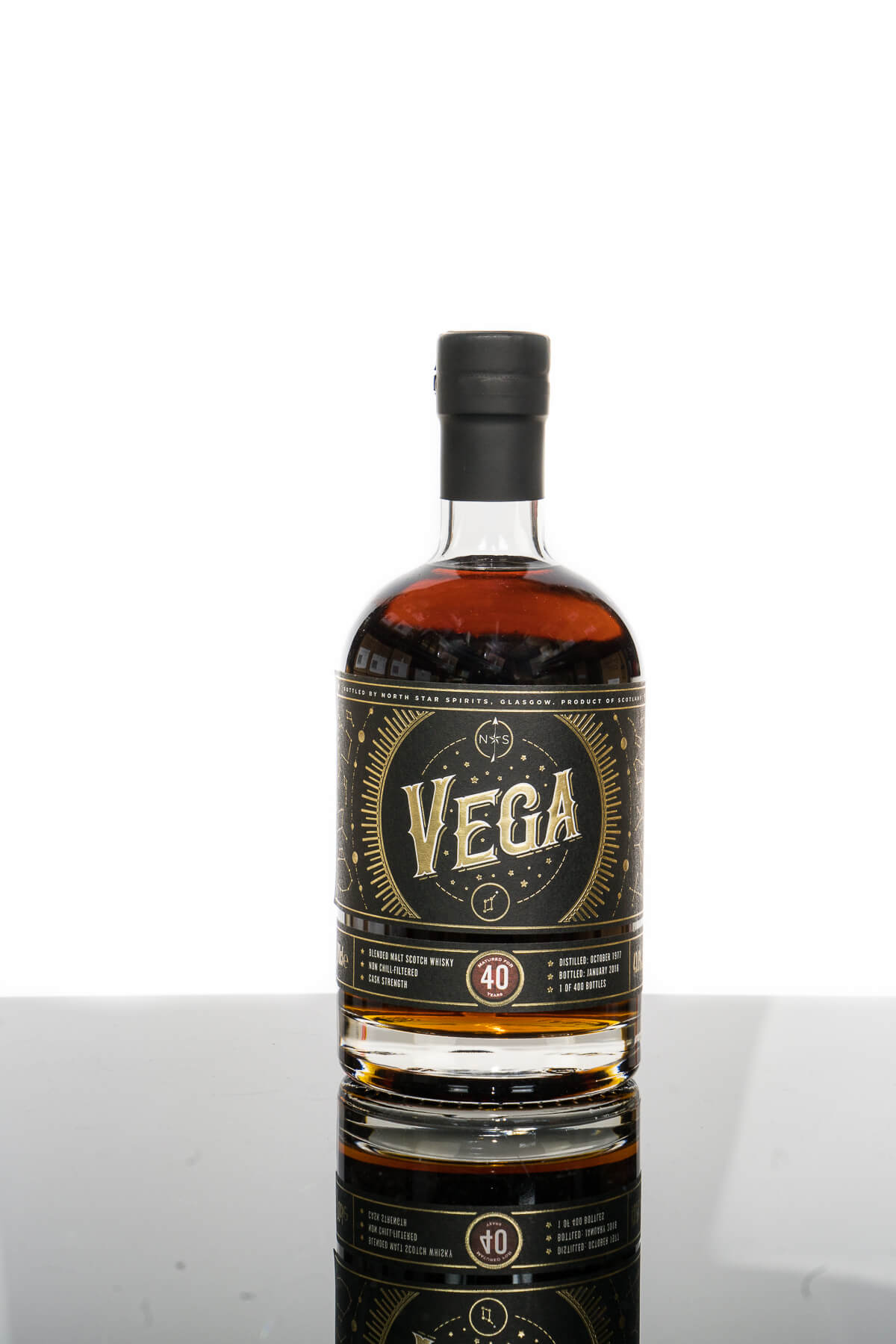 North Star Vega Aged 40 Years Blended Malt Scotch Whisky (700ml)
