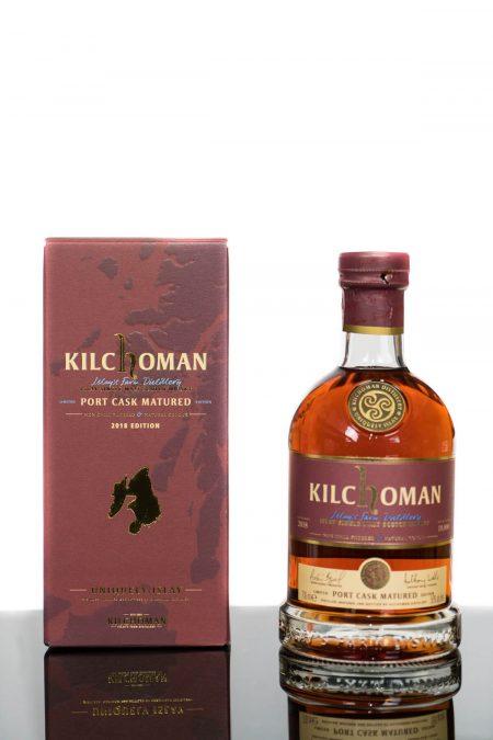 Kilchoman 2018 Port Cask Matured Islay Single Malt Scotch Whisky (700ml)