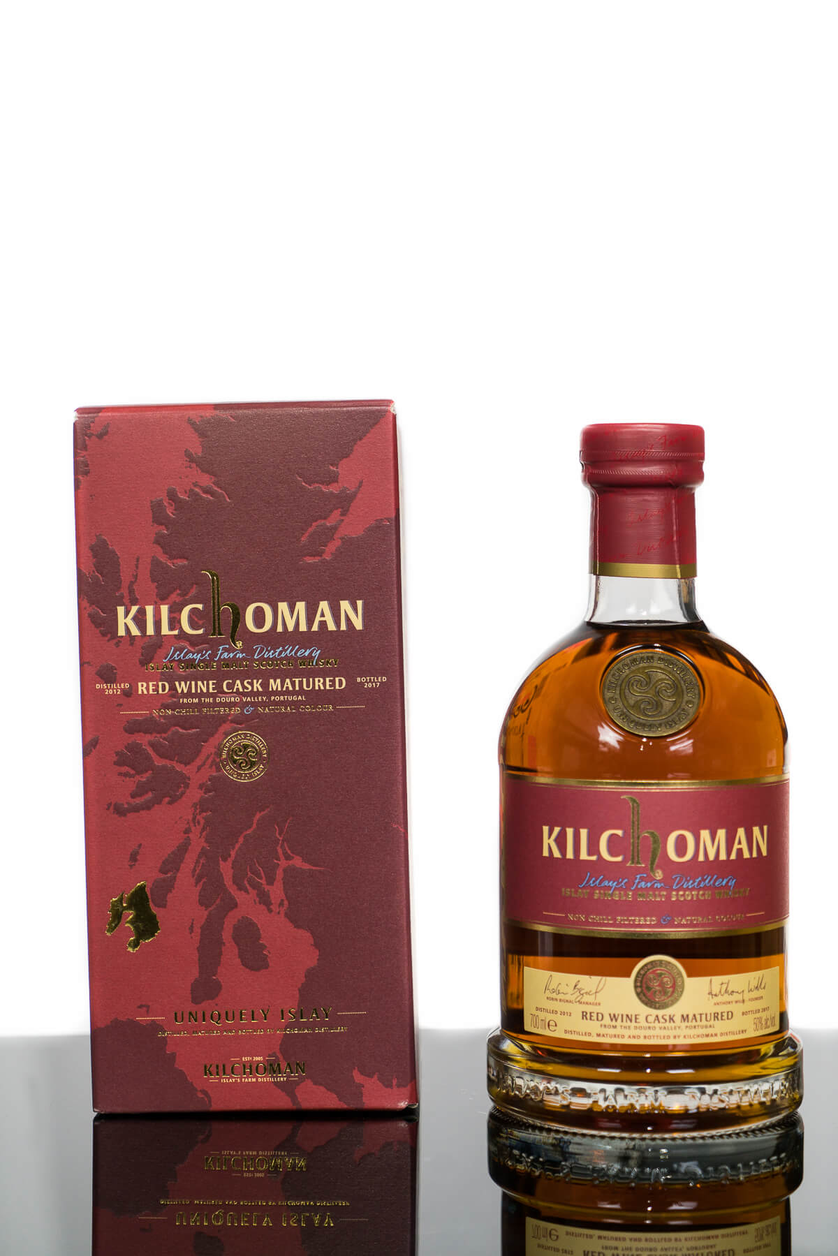 Kilchoman 2012 Red Wine Cask Matured Islay Single Malt Scotch Whisky (700ml)