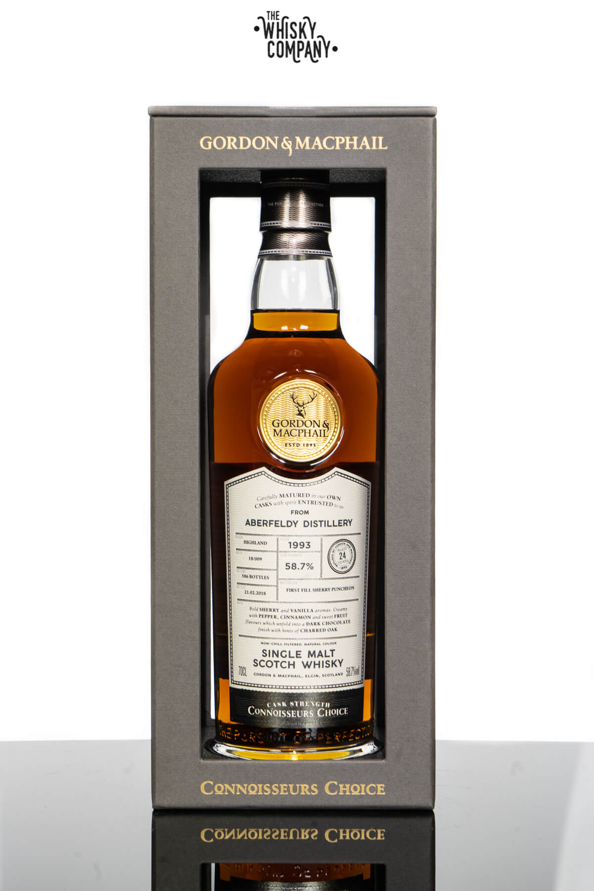 Aberfeldy 24 Years Old 1993 Single Malt Scotch Whisky Gordon & MacPhail (700ml)