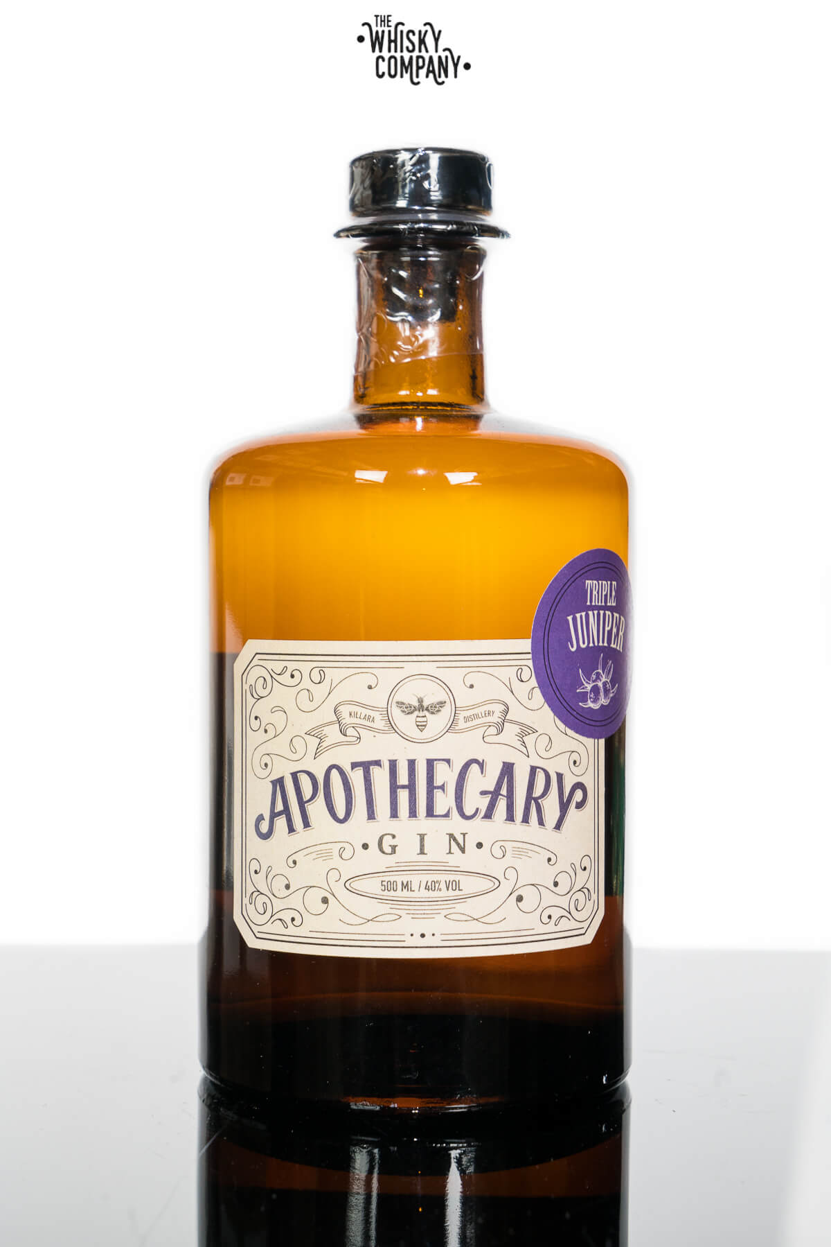 Killara Distillery The Apothecary Gin Triple Juniper (500ml)