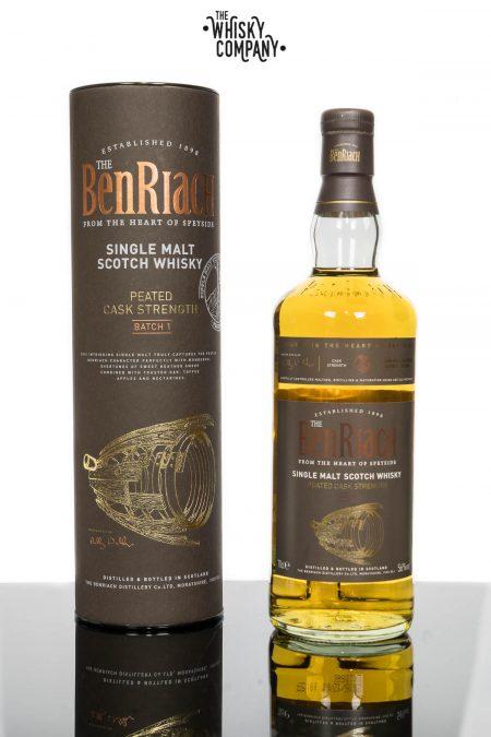 BenRiach Peated Cask Strength Batch 1 Speyside Single Malt Scotch Whisky (700ml)