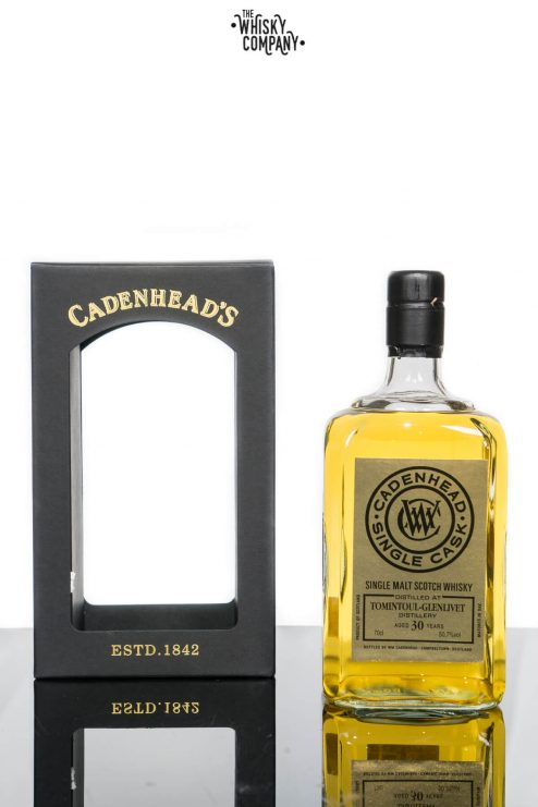 Tomintoul-Glenlivet 1985 Aged 30 Years Single Malt Scotch Whisky - Cadenhead's (700ml)