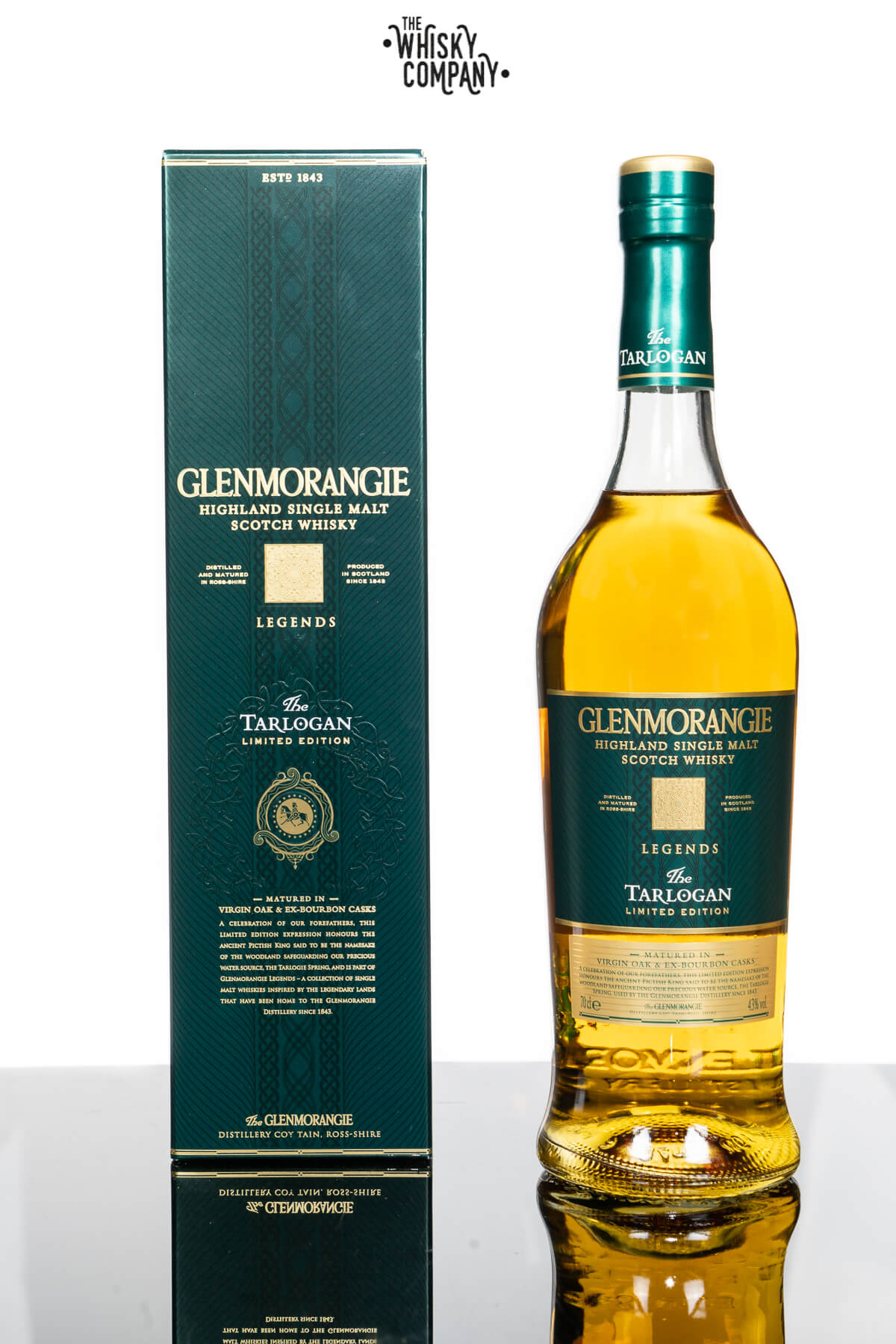Glenmorangie Legends Tarlogan Highland Single Malt Scotch Whisky (700ml)