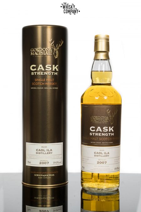 Caol Ila 2007 Cask Strength Islay Single Malt Scotch Whisky Gordon & MacPhail (700ml)
