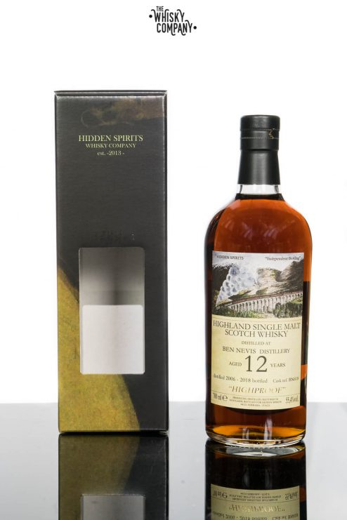 Hidden Spirits Ben Nevis 12 Years Old Speyside Single Malt Scotch Whisky (700ml)