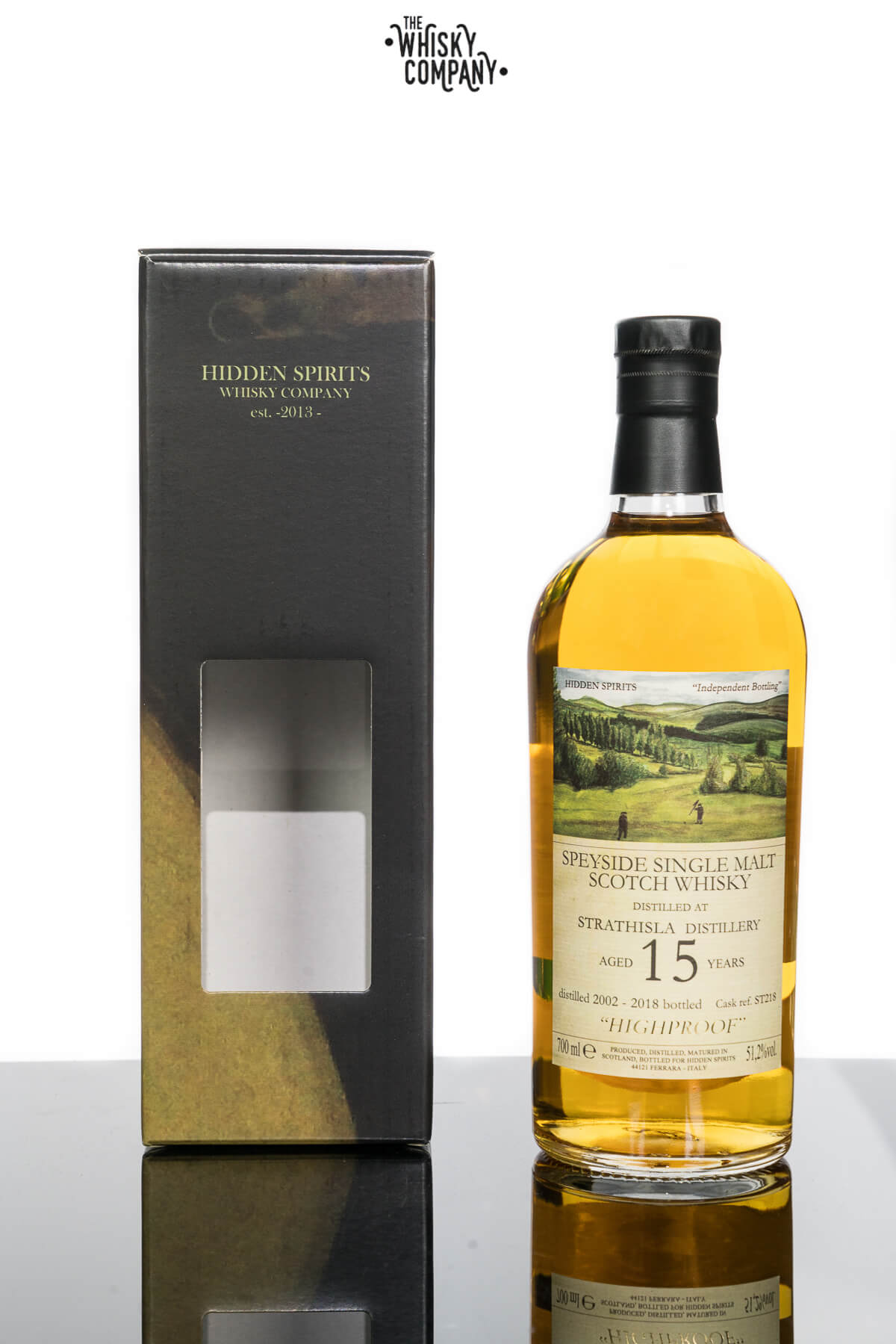 Hidden Spirits Strathisla 15 Years Old Speyside Single Malt Scotch Whisky (700ml)