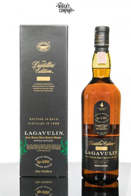 Lagavulin 1995 (bottled 2013) Distillers Edition Islay Single Malt Scotch Whisky (700ml)