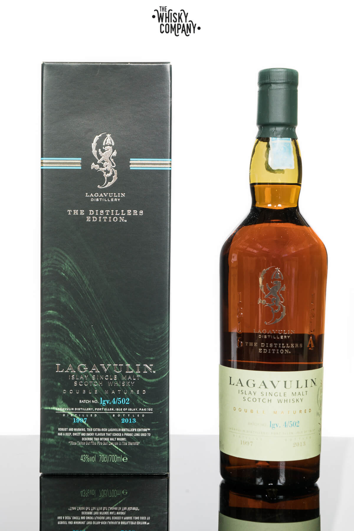 Lagavulin 1997 (bottled 2013) Distillers Edition Islay Single Malt Scotch Whisky (700ml)