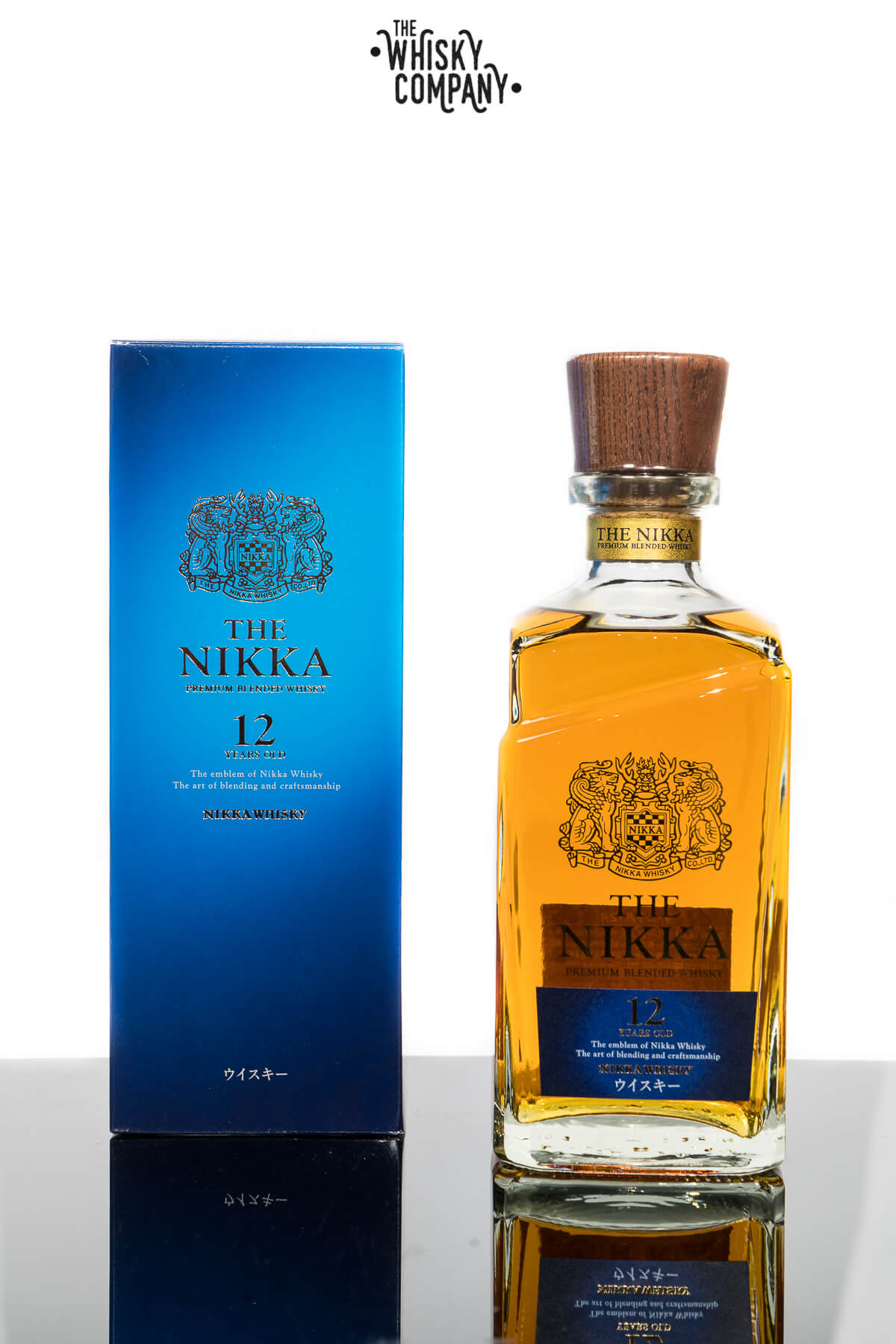 Nikka 12 Years Old Japanese Blended Whisky (700ml)