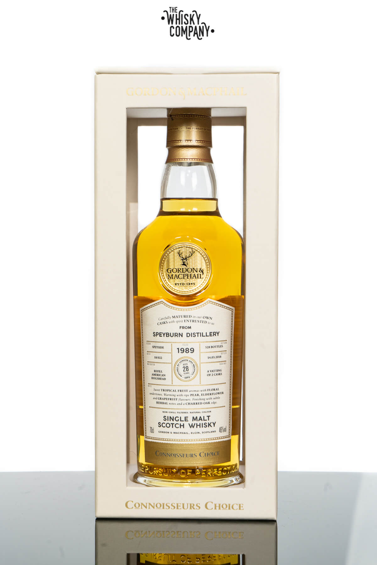 Speyburn 28 Years Old 1989 Speyside Single Malt Scotch Whisky Gordon & MacPhail (700ml)