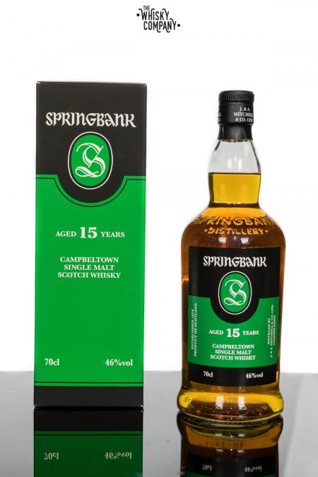 Springbank 15 Years Old Campbeltown Single Malt Scotch Whisky (700ml)