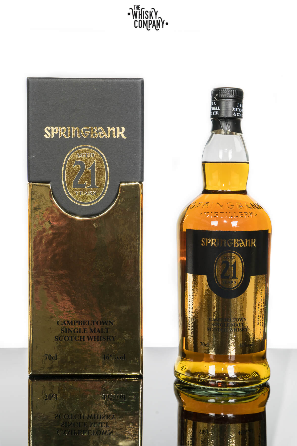 Springbank 21 Years Old Campbeltown Single Malt Scotch Whisky (700ml)