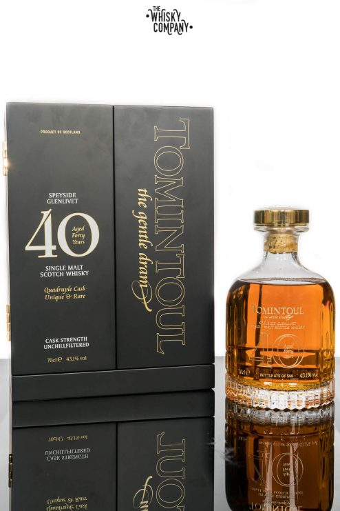 Tomintoul Aged 40 Years Speyside Single Malt Scotch Whisky (700ml)