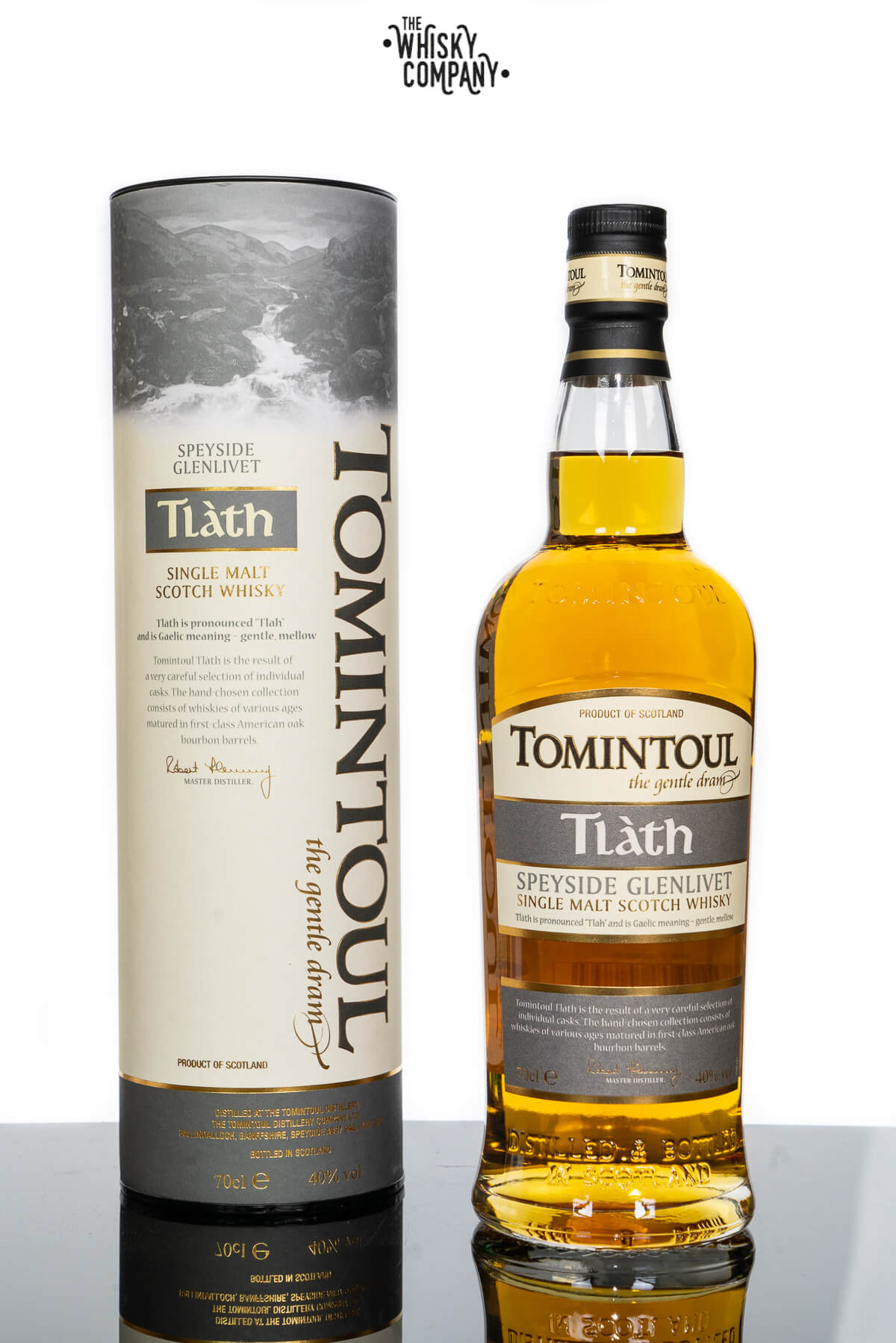 Tomintoul Tlath Speyside Single Malt Scotch Whisky (700ml)
