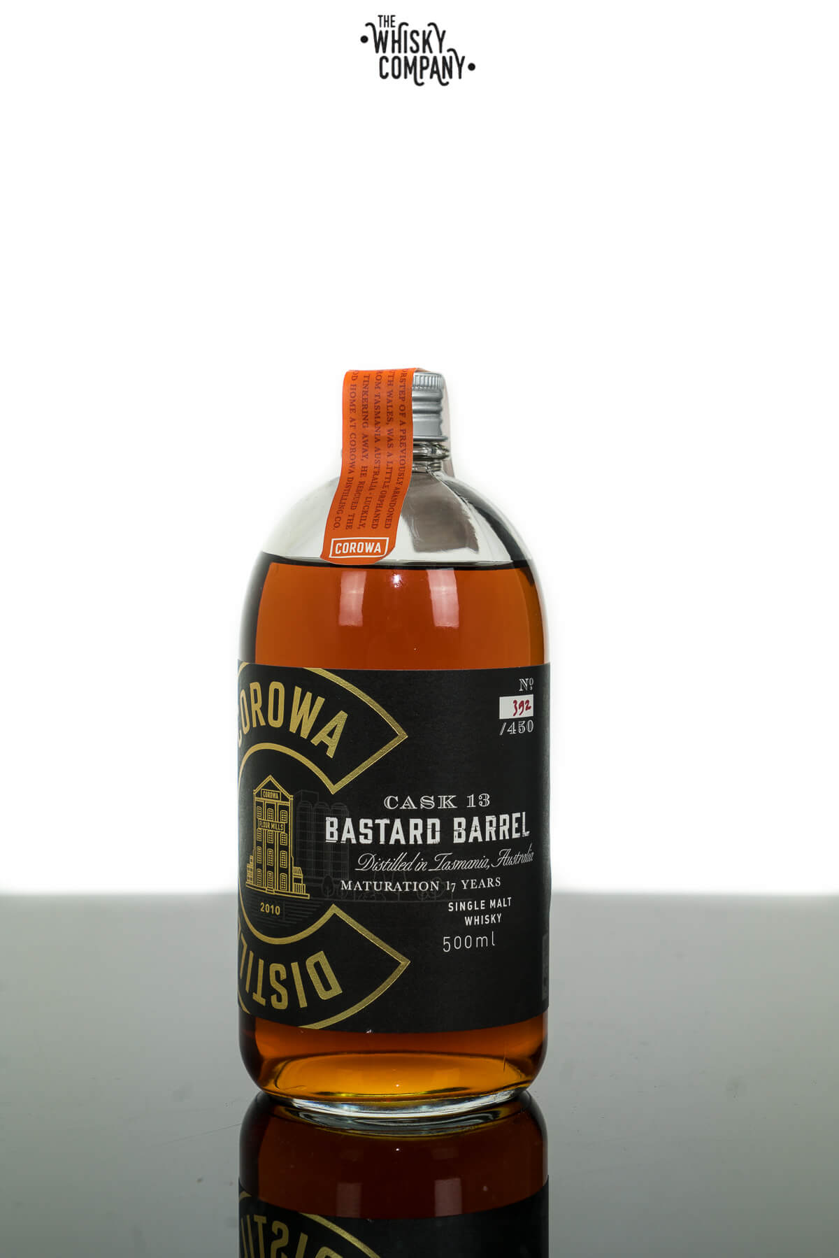 Corowa Distilling Co. Bastard Barrel Australian Single Malt Whisky (500ml)