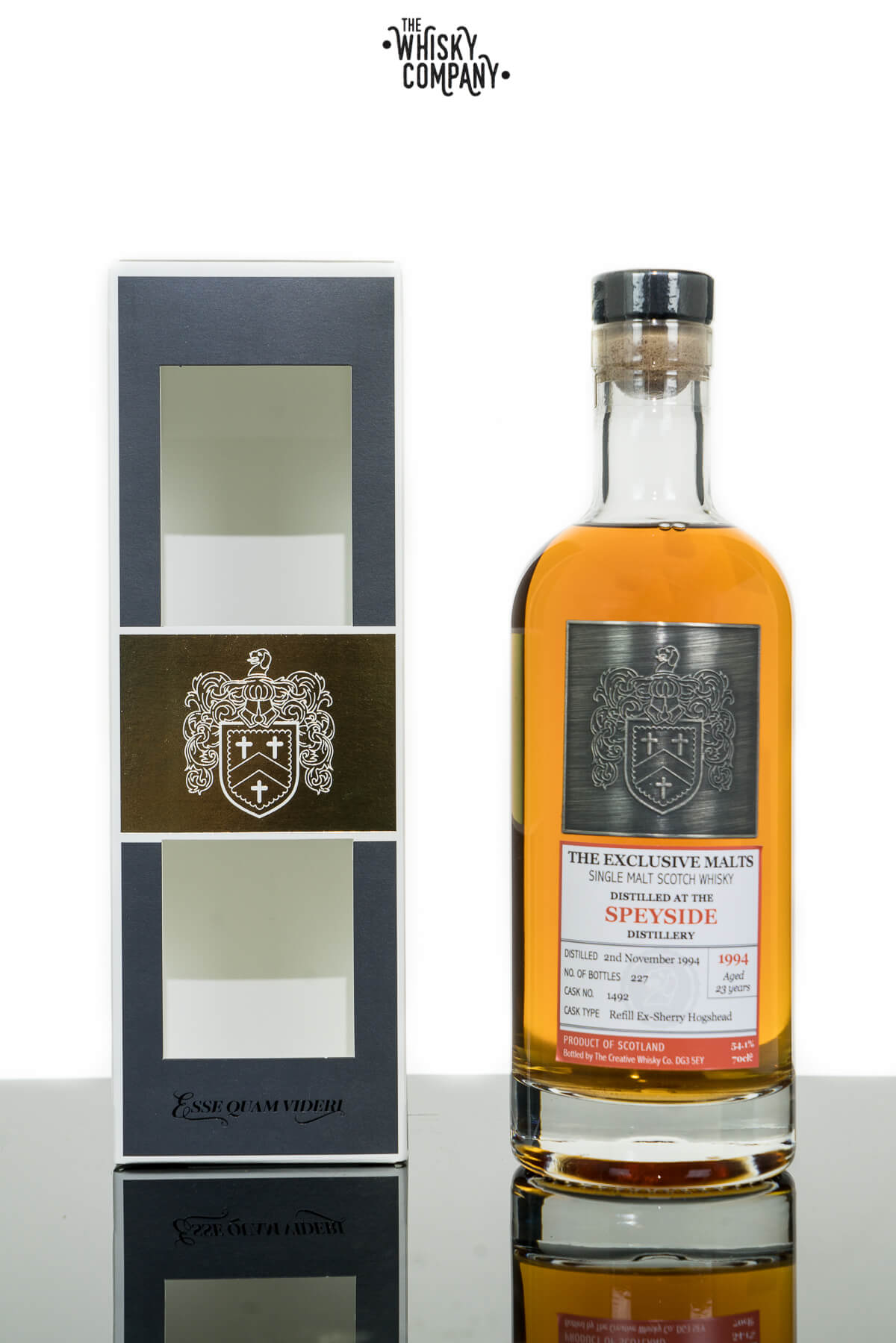 Speyside 23 Years Old Exclusive Single Malt Scotch Whisky (Creative Whisky Co.) (700ml)