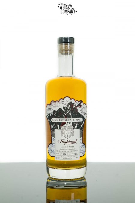Creative Whisky Co. Highland Aged 8 Years Cask No. 004 Single Malt Scotch Whisky (700ml)