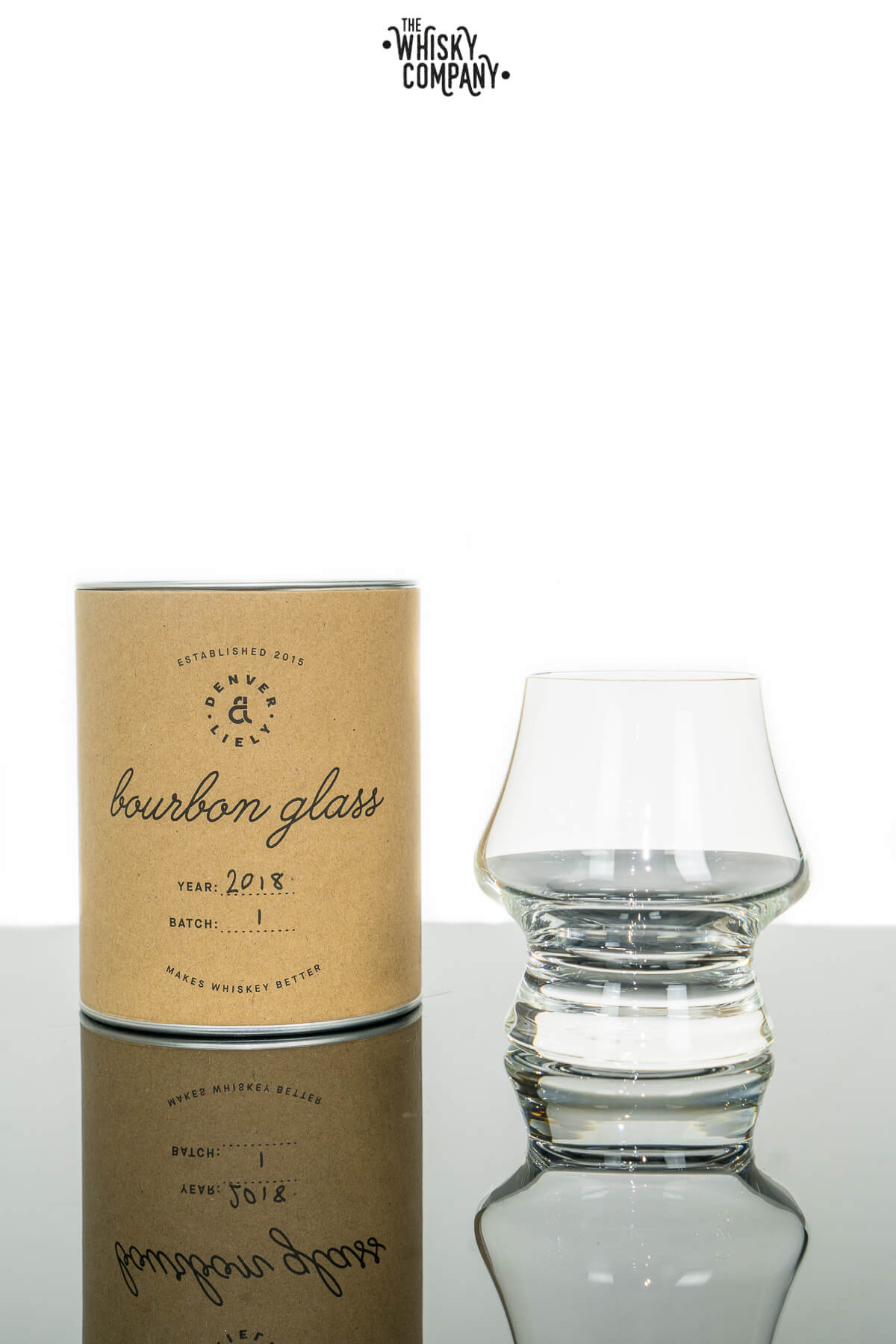 Denver & Liely Bourbon Glass Batch #1