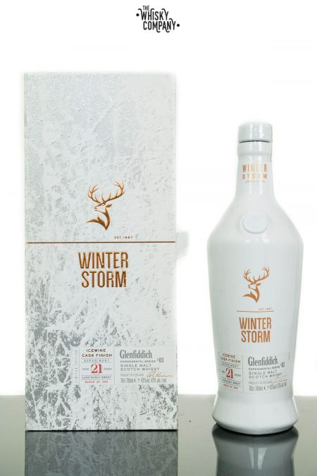 Glenfiddich 21 Years Old Winter Storm Series 3 Single Malt Scotch Whisky (700ml)