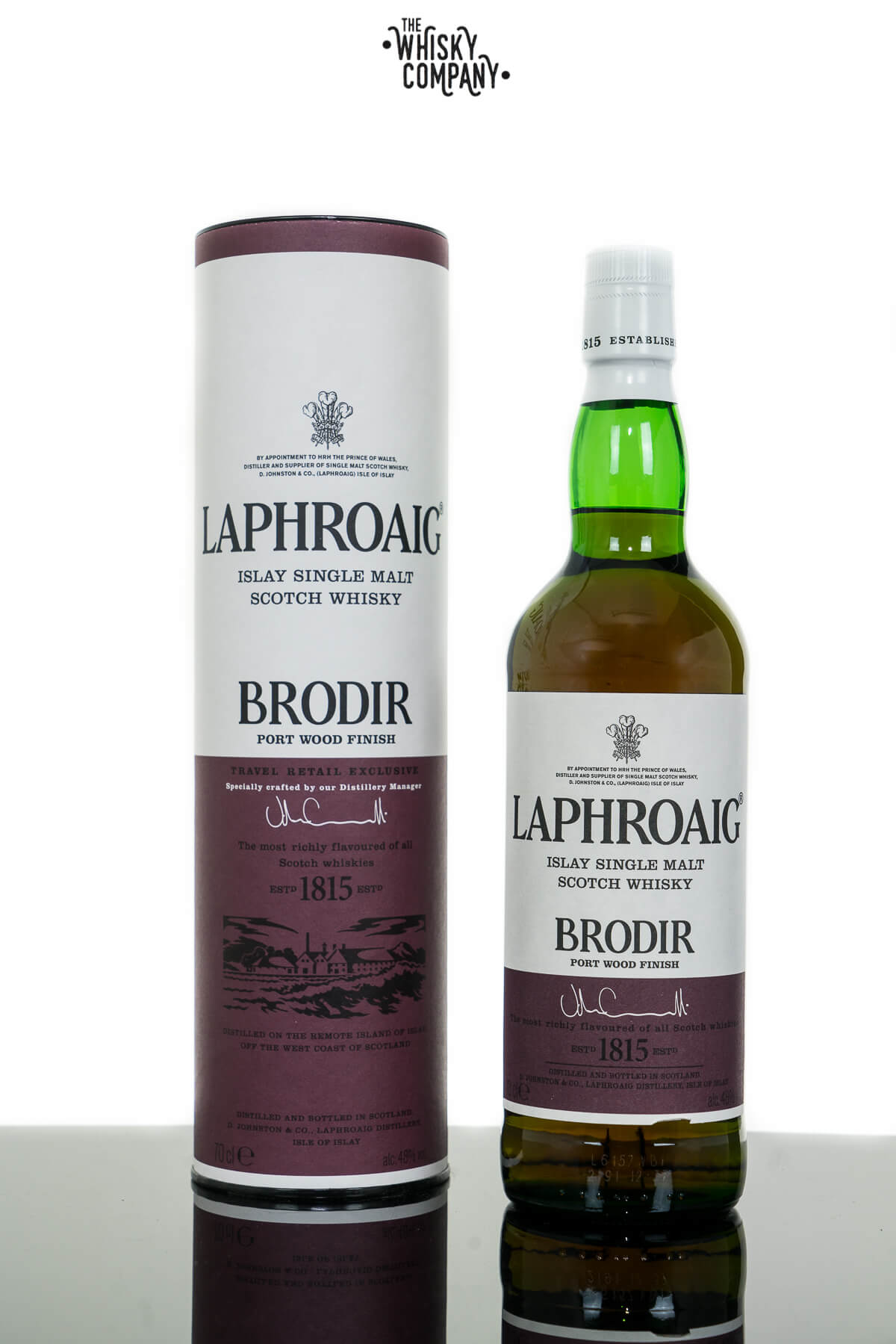Laphroaig Brodir Islay Single Malt Scotch Whisky (700ml)