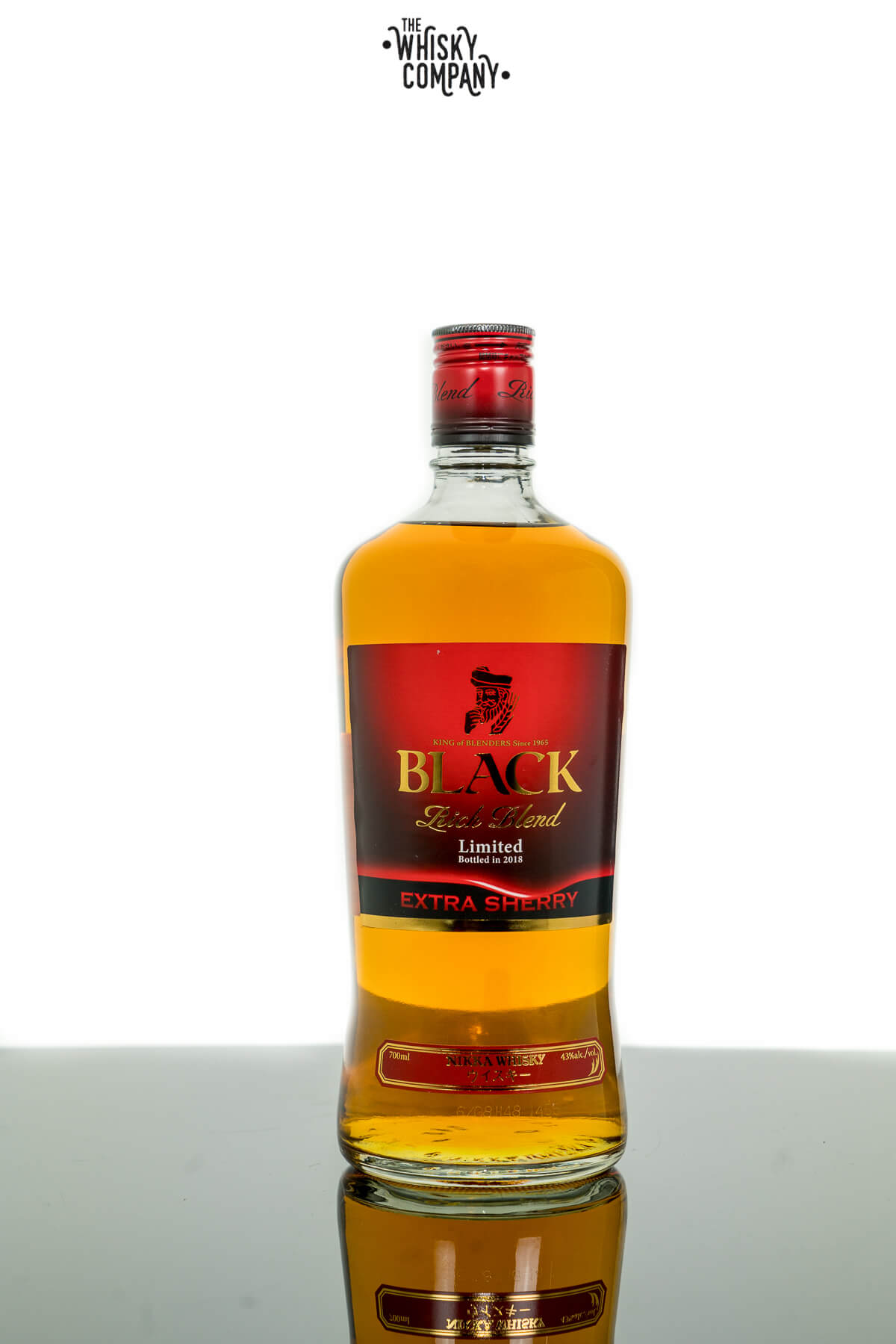 Nikka Black Rich Blend Extra Sherry 2018 Japanese Whisky (700ml)