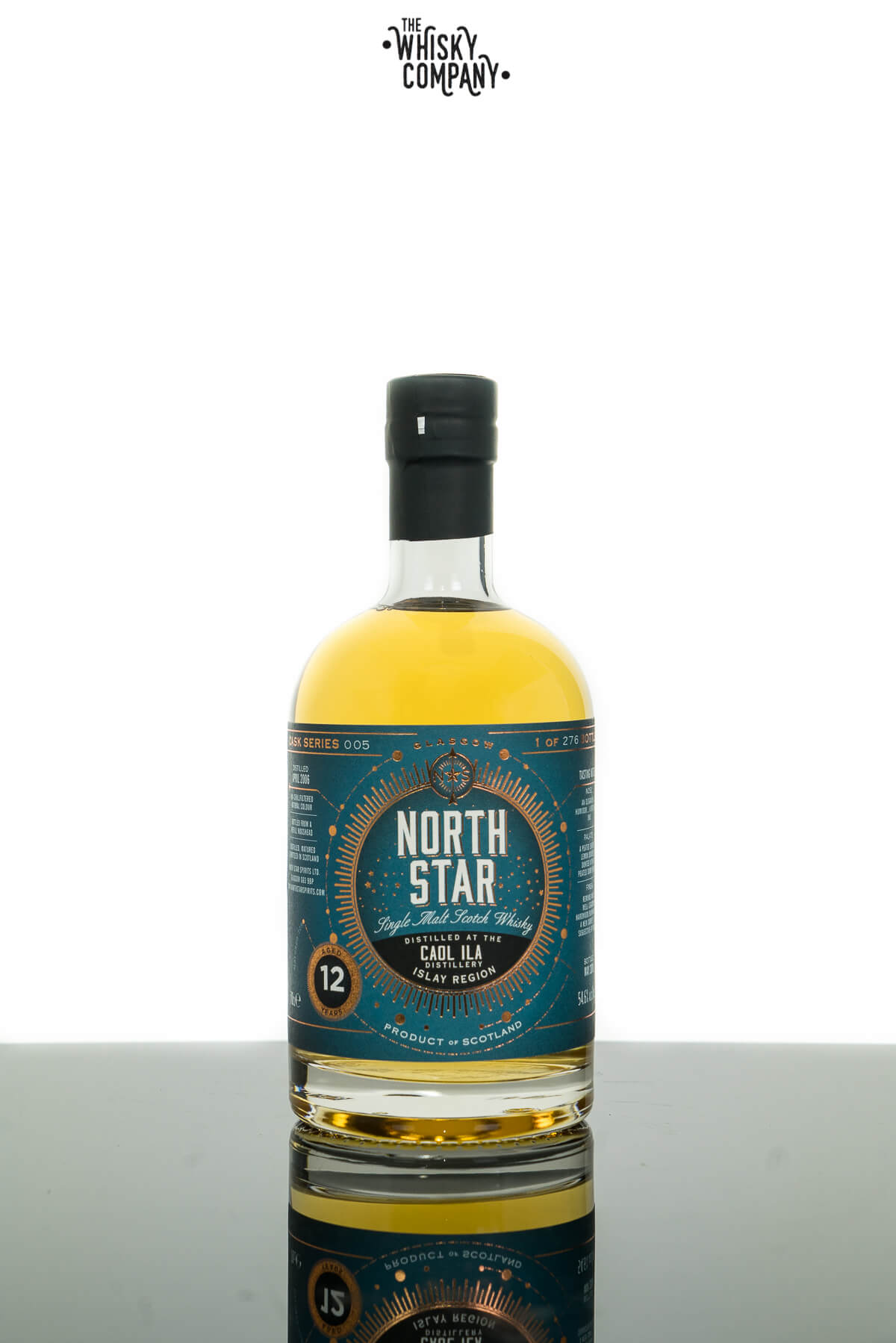 Caol Ila 2006 Aged 12 Years Old Single Malt Scotch Whisky - North Star (700ml)