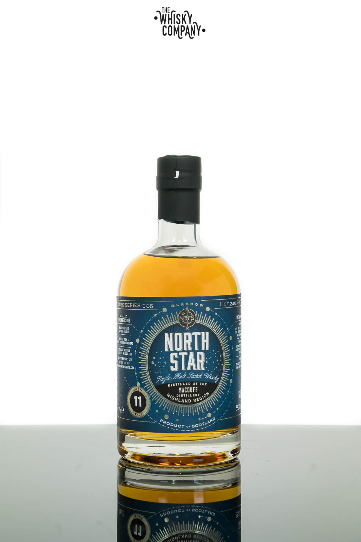 Macduff 11 Years Old 2006 Single Malt Scotch Whisky (North Star) (700ml)