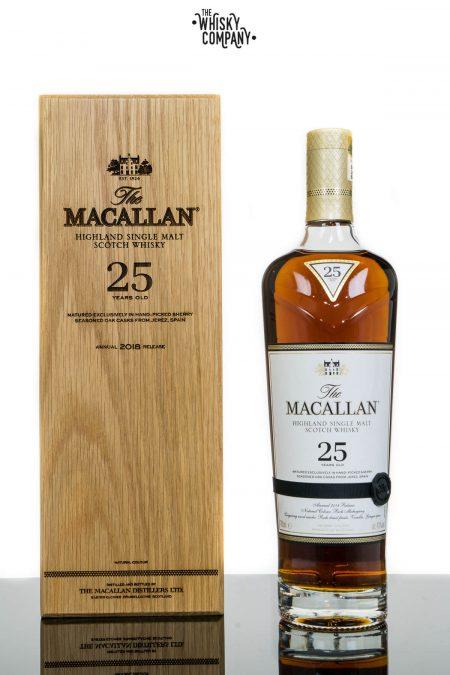 The Macallan 25 Years Old Sherry Oak 2018 Release Single Malt Scotch Whisky (700ml)
