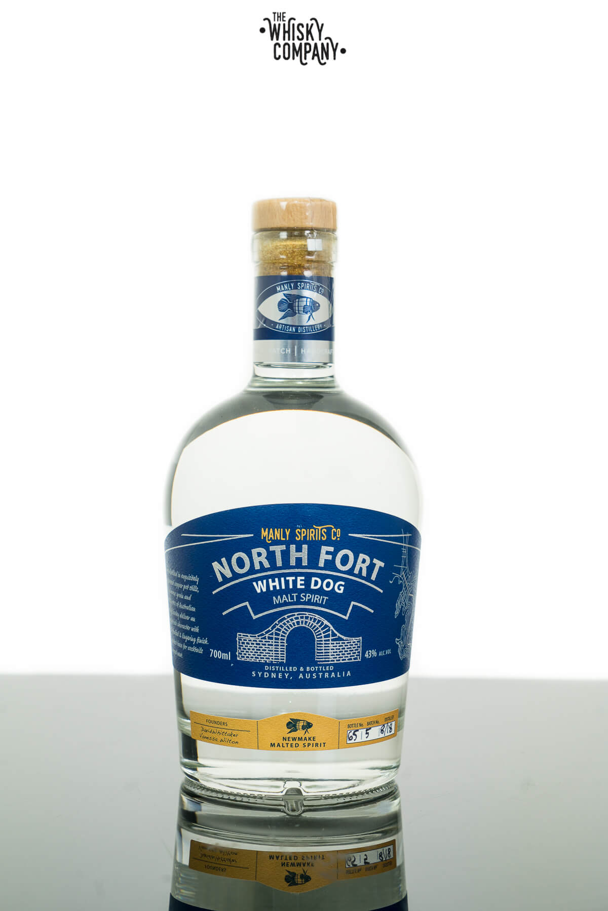 Manly Spirits Co. North Fort Whisky (White Dog) (700ml)