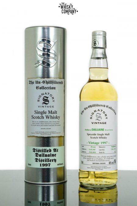 Dailuaine 1997 Aged 20 Years Single Malt Scotch Whisky - Signatory Vintage (700ml)
