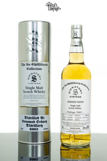 Unnamed Orkney 2005 Aged 13 Years Single Malt Scotch Whisky - Signatory Vintage (700ml)