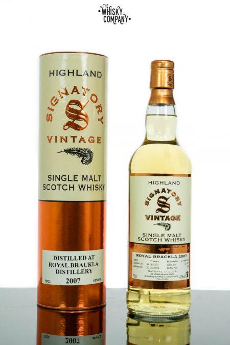 Royal Brackla 2007 Aged 10 Years Single Malt Scotch Whisky - Signatory Vintage (700ml)